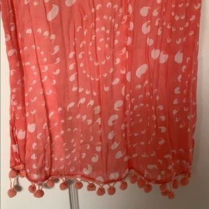 Beautiful pink scarf